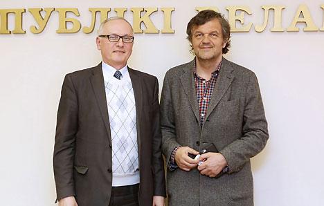 Эмір Кустурыца пачне здымаць фільм у Беларусі ў 2017 годзе