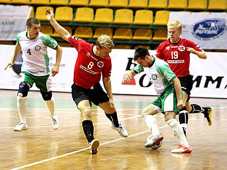 Чэмпіянат Еўропы па футзале-2012 у Брэсце. Беларусь- Нарвегія