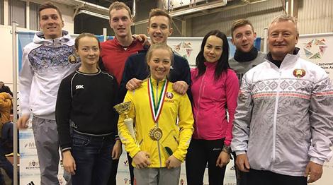 Пяціборка Ірына Прасянцова заняла першае месца на турніры ў Будапешце