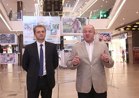 Фотавыстаўка БЕЛТА адкрылася ў ГЗЦ Galleria Minsk