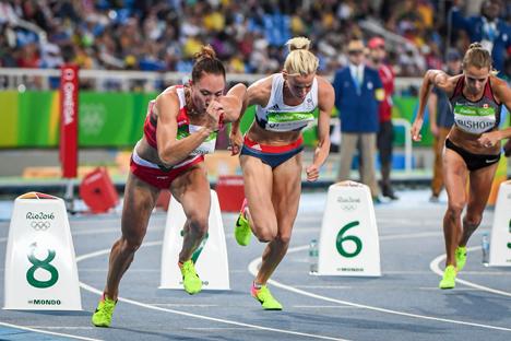 Марына Арзамасава заняла 7-е месца ў бегу на 800 м на Алімпіядзе ў Рыа