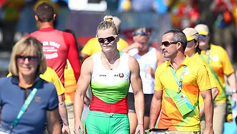 Марына Літвінчук заняла 4-е месца на Алімпіядзе ў байдарцы-адзіночцы на 500 м