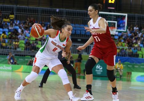 Беларускія баскетбалісткі прайгралі турчанкам у Рыа