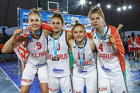 Беларускі занялі другое месца на чэмпіянаце Еўропы па баскетболе 3х3 у Мінску