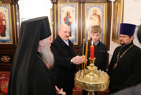 Лукашэнка: Беларусь здолее пераадолець складанасці, і гэты год стане пераломным
