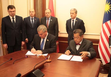 Андрэйчанка: У Беларусі і Малайзіі ёсць аснова для паглыблення палітычнага дыялогу