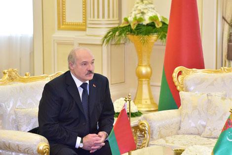 Лукашэнка: Беларусь - надзейная апора і сябар Туркменістана ў цэнтры Еўропы