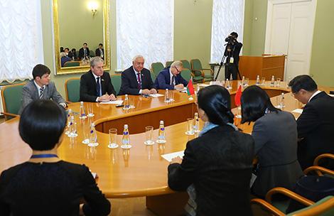 Мясніковіч: Беларусь гатова ствараць камфортныя ўмовы для прыцягнення прамых інвестыцый з Кітая