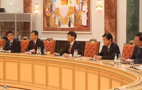 Мэн Цзяньчжу: Кітай разглядае маючы адбыцца візіт Лукашэнкі як важнейшую падзею