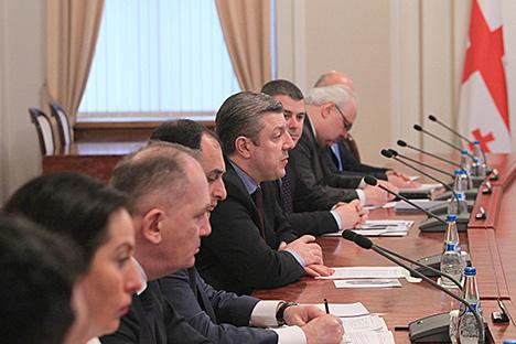 Беларусь гатова разглядаць прапановы па супрацоўніцтве з Грузіяй ва ўсіх сферах
