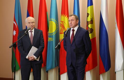 Макей: Беларусь выступае за развіццё СНД і прыняцце эфектыўных рашэнняў