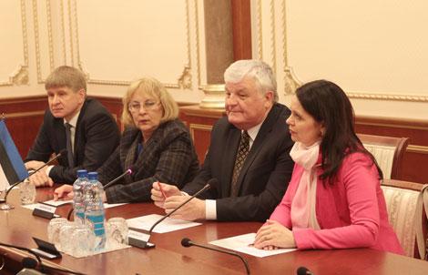 Пірштук: Беларусь і Эстонія могуць актывізаваць адносіны і павялічыць тавараабарот у разы