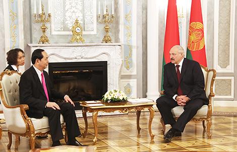 Чан Дай Куанг: Беларусь і В'етнам маюць добрую аснову для ўмацавання і пашырэння супрацоўніцтва