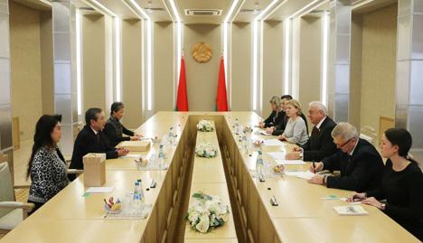 Мясніковіч: Беларусь нацэлена на пашырэнне шматпланавых кантактаў з Японіяй