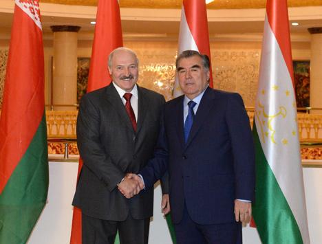 Лукашэнка: Беларусь гатова дапамагаць Таджыкістану ў любую мінуту