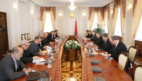 Кабякоў прапануе Ірану вывесці супрацоўніцтва з Беларуссю ў эканоміцы на якасна новы ўзровень