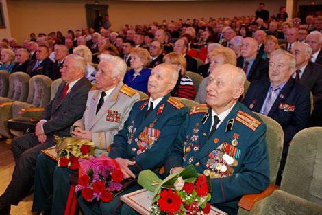 Качанава: Дзяржава высока цэніць актыўную жыццёвую пазіцыю беларускіх ветэранаў