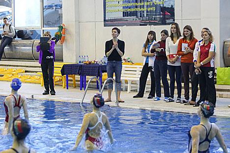 Давыдава: Майстар-клас дапаможа беларускім сінхраністкам дабіцца больш высокіх вынікаў на турнірах
