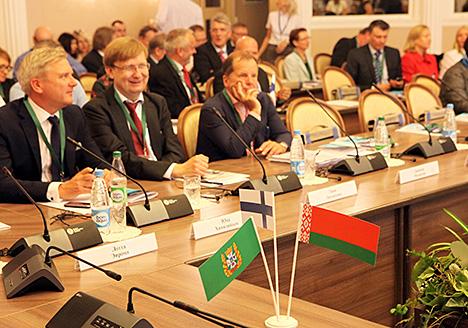 Беларуска-фінляндскі эканамічны форум у Гомелі