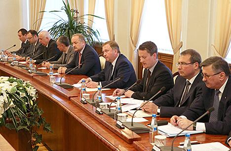 Кабякоў разлічвае на падрыхтоўку да 2017 года ўзважанай эфектыўнай стратэгіі партнёрства з СБ