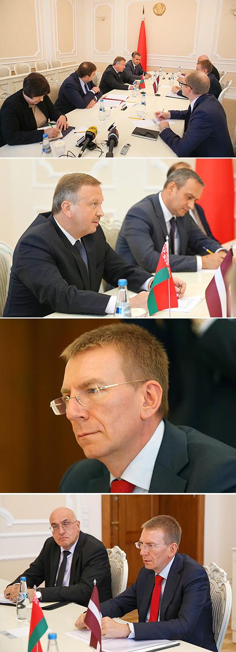 Кабякоў выказаў удзячнасць Латвіі за канструктыўную пазіцыю ў пытанні нармалізацыі адносін Беларусі і ЕС