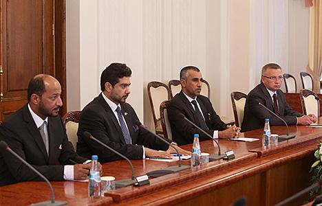 Кабякоў: Беларусь бачыць вялікія перспектывы для развіцця інвестыцыйнага супрацоўніцтва з Аманам