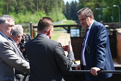 Калінін: Аўгустоўскі канал трэба актыўней папулярызаваць і прапаноўваць больш паслуг