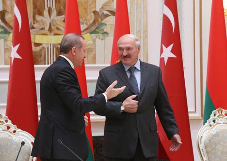 Эрдаган назваў свой візіт у Мінск паваротным момантам у беларуска-турэцкіх адносінах