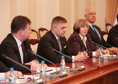 Кабякоў: Беларусь лічыць Славакію важным і перспектыўным партнёрам у Еўропе