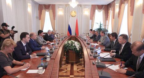 Русы: Беларусь разглядае ўсе напрамкі для развіцця супрацоўніцтва з Чачнёй