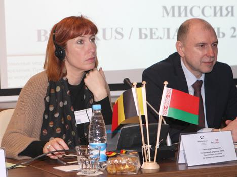 Бельгійскі бізнес зацікаўлены ва ўзмацненні ўзаемадзеяння з беларускімі кампаніямі