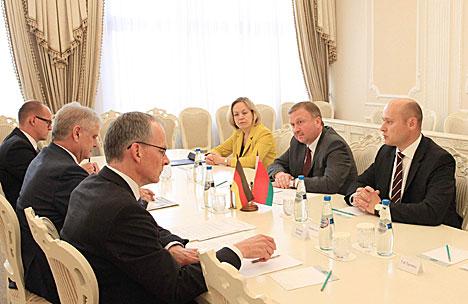 Кабякоў: Беларусь гатова да аднаўлення паўнацэннага дыялогу з ЕС на аснове раўнапраўя і ўзаемапавагі