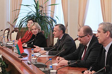 Мацюшэўскі: У беларуска-італьянскіх адносінах назапашаны вялікі нерэалізаваны патэнцыял