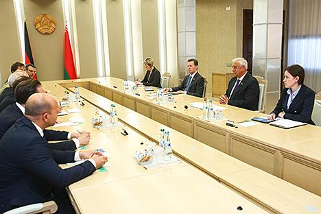сніковіч: Беларусь гатова ствараць камфортныя ўмовы для прыходу нямецкіх інвестыцый