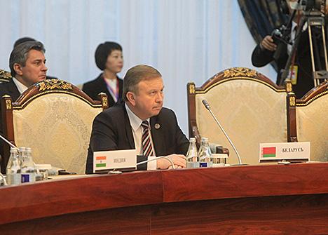 Кабякоў: Беларусь падтрымлівае ідэю інтэграцыі ЕАЭС і ШАС