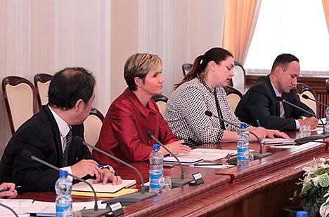 Мацюшэўскі: Беларусь разглядае Сусветны банк у якасці важнага і сур'ёзнага партнёра