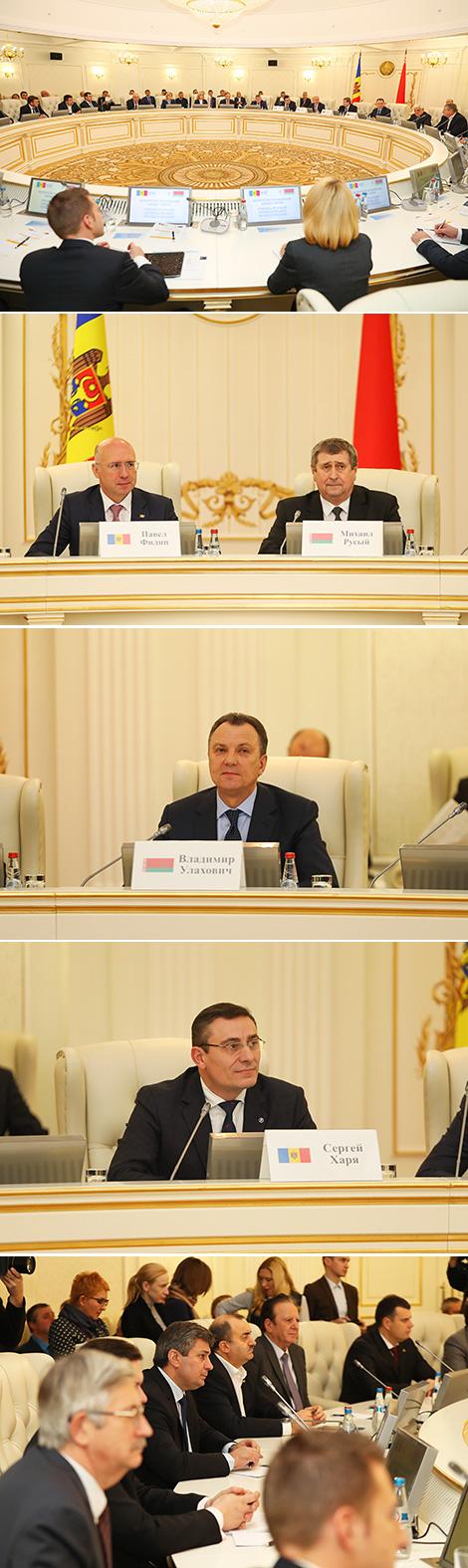 Беларуска-малдаўскі бізнес-форум у Мінску