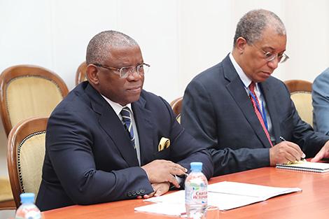 Макей: Беларусь гатова развіваць адносіны з Анголай