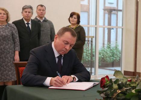 Макей: У Беларусі шчыра суперажываюць трагедыі з крушэннем самалёта ў Расіі