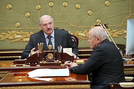 Лукашэнка - Анфімаву: Неабходна адысці ад практыкі неабгрунтаваных праверак бізнесменаў