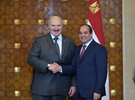 Абдэль Фатах аль-Сісі: Егіпет гатовы ўмацоўваць высокі ўзровень супрацоўніцтва з Беларуссю