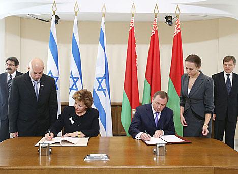 Макей назваў падпісанне беларуска-ізраільскага пагаднення аб адмене віз гістарычнай вяхой у адносінах
