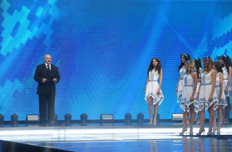 """Лукашэнка: """"Міс Беларусь"""" будзе вызначаць імідж краіны нараўне са спартсменамі і дзеячамі культуры"""