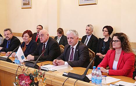 Гумінскі заклікаў Парламенцкую канферэнцыю Балтыйскага мора развіваць супрацоўніцтва