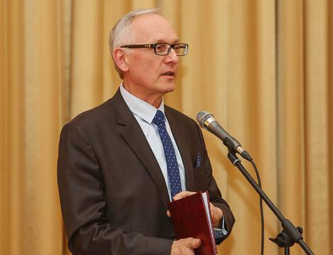 Міністр культуры Барыс Святлоў