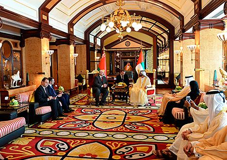 Лукашэнка: Дзверы Беларусі для ААЭ заўсёды адкрыты