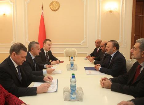 Мацюшэўскі: Беларусь і ААЭ павінны сур'ёзна пашырыць гандлёва-эканамічнае супрацоўніцтва