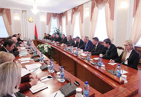 Мацюшэўскі: Беларусь разлічвае на пашырэнне супрацоўніцтва з Сусветным банкам
