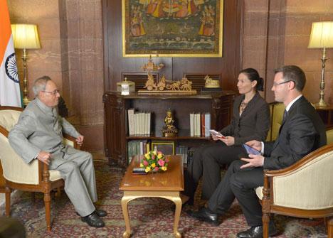 Пранаб Мукерджы: Індыя мае намер вывесці адносіны з Беларуссю на больш высокі ўзровень