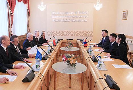 Гумінскі: Беларусь і Манголія праводзяць аднолькава міралюбівую знешнюю палітыку